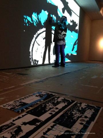 "2014 - Installation of ""Sip. Do Not Gulp."" De Saisset Museum, Santa Clara, CA"