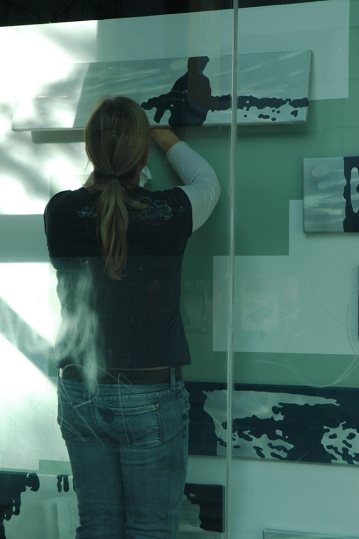 "2011 - Installation of a version of ""Defragmmentation: Rearranging Bits and Pieces of Memory"""