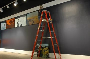 2010 - Installation of Correspondences and Elevation, San Diego Art Institute, San Diego.