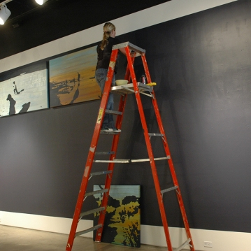 2010 - Installation of Correspondences and Elevation, San Diego Art Institute, San Diego.