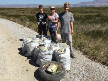 2016 - Coastal Clean up.
