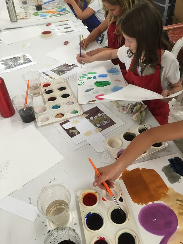 making a color palette