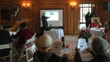 Keynote by Shirley Brice Heath