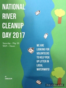 michele guieu river cleanup 05 02 small
