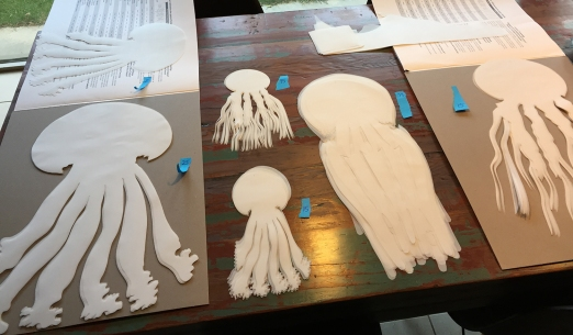 Prepping for the jellyfish schools