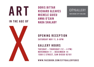 Invitation for the exhibition
