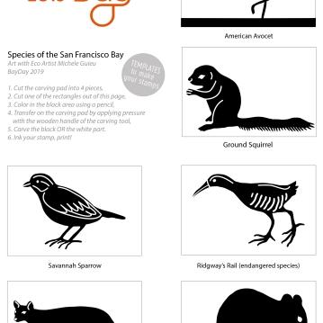 michele guieu templates animals 4x3