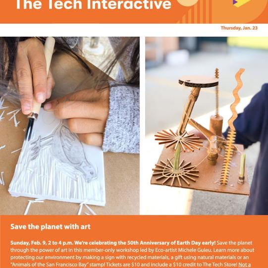 Tech Interactive Michele Guieu eco workshop