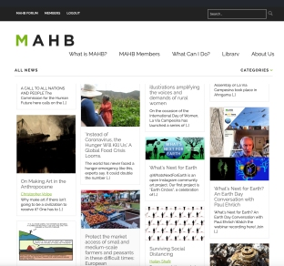 What's Next for Earth on the MAHB website
