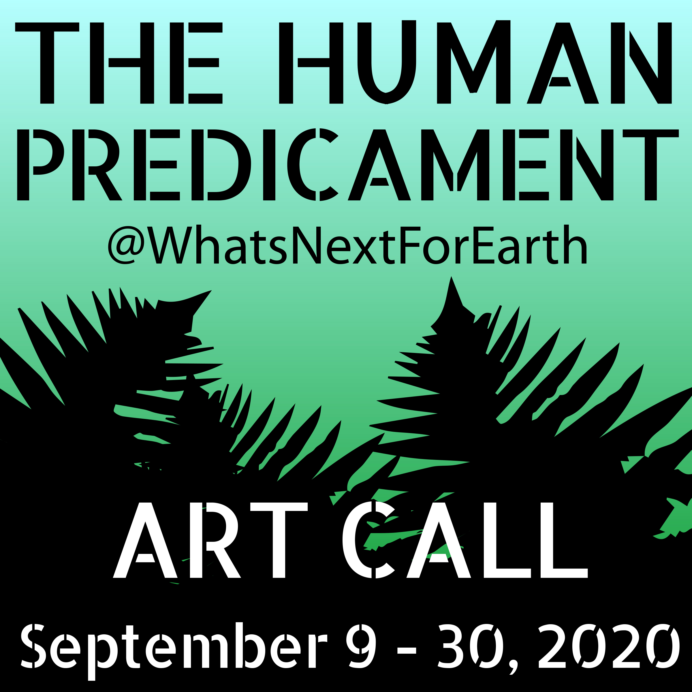 What's Next for Earth Human Predicament Art Call